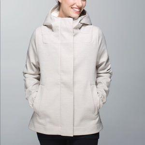 Lululemon Jacket Coat Studio Softshell Angle Wing